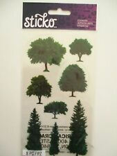 STICKO STICKERS - Trees - summer park forest