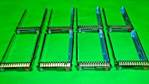 "HP Genuine G8 Gen8 651687-001 SFF 2.5"" Tray Caddy w/screws w/CHIP  LOT OF 8   @4"