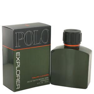 Polo Explorer Cologne by Ralph Lauren 4.2oz/125ml EDT Spray No Cellophane