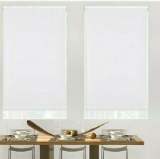 GLOWE Cordless Blackout Roller Shade in Snow White