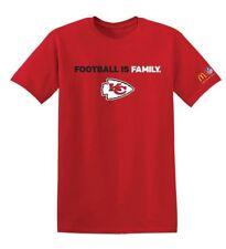 Kansas City Chiefs Medium Red T-Shirt Football is Family McDonalds Sponsor NFL