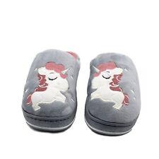 Ciabatte Donna Invernali Pantofole Ragazza Unicorno Peluche Pellicciose