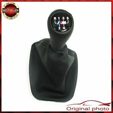 5 speed BMW Shift Gear Knob Leather + Gaiter M tech sport Shifter E36 NEU