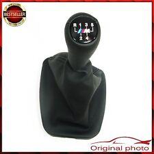 NEU E46 5 speed BMW Shift Gear Knob Leather + Gaiter M tech sport Shifter