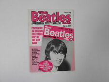 BEATLES BOOK MONTHLY Magazine MARCH 1981 ISSUE 59  3-A