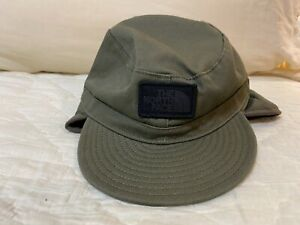 THE NORTH FACE  FUZZY FUDD HAT YOUTH SIZE SMALL TAUPE GREEN NWT!