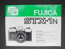 Fuji Fujica Stx-1N Genuine Camera Instruction Book / Manual / User Guide