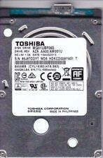"Toshiba MQ01UBF050 pn: HDTD205XK3D1 sn: 85J6TCOYTWD6 500GB 2.5"" USB 3.0 B11-7"