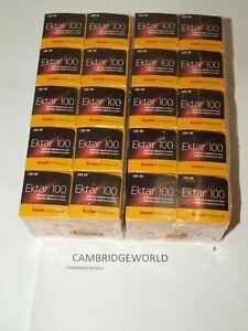 EKTAR 100 KODAK  35mm 36exp. COLOR NEGATIVE FILM FRESH 10/22  20 ROLLS in BOX