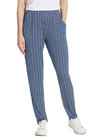 Marks & Spencer Womens Tapered Leg Casual Trousers New M&S Printed Lounge Pants
