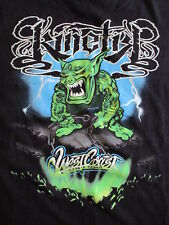 WEST COAST CUSTOMS KINETIK T SHIRT Tex Mex 09 Monster Logo Auto Car TV Show XL