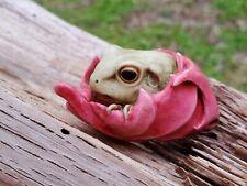 Harmony Kingdom Artist Adam Binder Maple Frog Green Frog Red Leaf