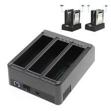 "FIDECO 3-bay USB 3.0 2.5""/3.5"" Hard Disk Dock Station Offline Clone (YPZ08B-U3)"