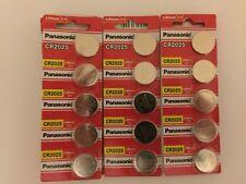 50 Batteries-Panasonic CR2025 DL2025 ECR2025 3V Lithium Coin Battery Exp 2027