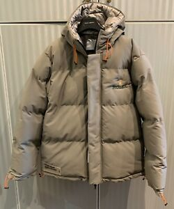 ROLEX LOGO SUPER WARM PADDED GRAY JACKET SIZE  XL SEE MEASURES NEW