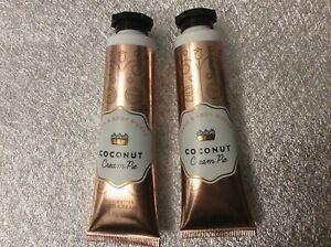 Bath & Body Works Coconut Cream Pie Hand Cream X 2 New
