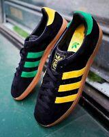 Adidas Padiham Mens Black Green Brown Shoe Trainer Sneaker Sport All Sizes
