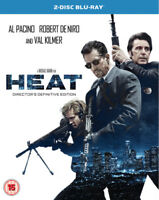 Heat DVD (2017) Al Pacino, Mann (DIR) cert 15 2 discs ***NEW*** Amazing Value
