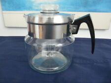 Vintage-Pyrex 8856-Flameware  6-Cup-Coffee-Pot-Percolator