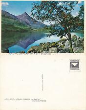 1980's LOCH LEVEN TOWARDS PAP OF GLENCOE ARGYLE & BUTE SCOTLAND COLOUR POSTCARD