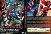 LIVE ACTION DVD Kamen Rider Build The Movie-Be The One English sub FREE SHIPPING