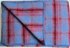 Wool Blanket, Wool Plaid, Bedspread, Oversize, 135x215cm, 100% Virgin Wool