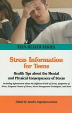Stress Information for Teens: Health Tips about th