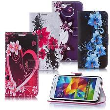 Handy Tasche für Samsung Galaxy Schutz Hülle Motiv Flip Cover Case Etui Wallet