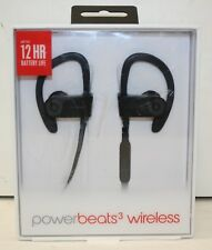 Beats by Dr. Dre A1747 Powerbeats3 Wireless Ear-Hook Wireless Headphones - Black