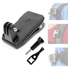 Rotatable 360 Degré Quick Clip Mount pour GoPro HERO 6 5 4 3 Sac à dos Sac à dos