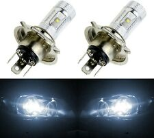 LED 30W HS1 12V White 5000K Two Bulbs Head Light Replace Motorcycle Bike
