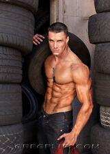"""026 Greg Plitt - American Fitness Model Actor 14""""x19"""" Poster"""