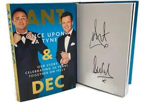 Signed Book - Once Upon A Tyne: Our story by Ant & Dec First Edition 1st Print