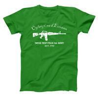 The Irish Army Est Ireland Pride Gaelic Celtic Green Basic Men's T-Shirt