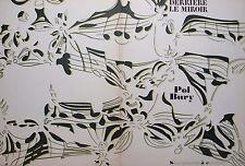 DERRIERE le Miroir. POL Bury n. 209. 7 ORIGINALE colore LITOGRAFIE. 1974.