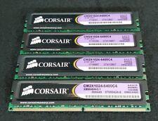 4x CORSAIR XMS2 1GB 240-Pin DDR2-800 SDRAMPC2 6400
