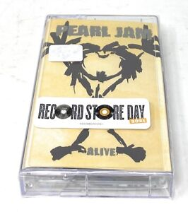 Pearl Jam Alive Cassette Tape For Record Store Day RSD 2021 New Factory Sealed