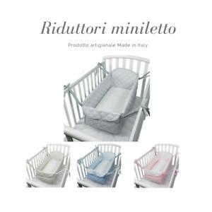 Babysanity - Riduttore paracolpi mini letto culla nido  per lettino universale