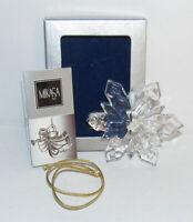 Mikasa Joyous Collection Crystal Snowflake Christmas Ornament
