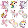 Magical Unicorn Helium Foil Balloon - Choice 9 Designs Party Decoration