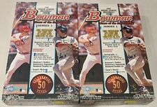 1998 Bowman Major League Baseball Series 1 FACTORY SEALED Box * RCs (2 Box Lot)
