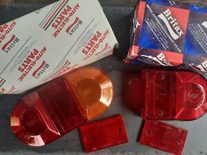 BRITAX OVAL CLASSIC MINI PICK UP REAR STOP/TAIL/TRAILER INDICATOR LIGHT LAMP.