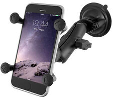 Ram Mounts Twist Lock Suction Cup Mount w/Universal X-Grip Cell / iPhone Cradle