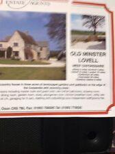 da3 Ephemera 1997 House Sale Advert Old Minster Lovell Oxfordshire