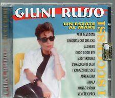 GIUNI RUSSO CD I SUCCESSI UN'ESTATE AL MARE  Franco Battiato NUOVO sealed 2000