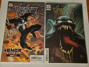 VENOM #27 A/B SET Cates Stegman FIRST APPEARANCE CODEX AGENT VENOM Marvel Comics