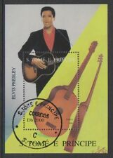 St Thomas & Prince Islands - 1996, Elvis Presley sheet - CTO