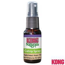 KONG Naturals CATNIP Spray 30ml Premium Entices Play,Gives Cat Pleasure Harmless