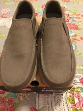 Mens Slip-On SKECHERS RELAXED FIT Casual Shoes - Size US 10 Extra Wide