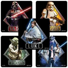 20 Star Wars Classic STICKERS Party Favors Teacher Supplies Treat Bags